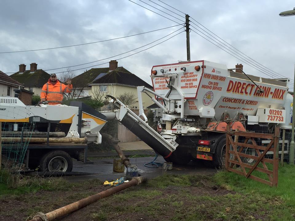 Concrete pumping Poole